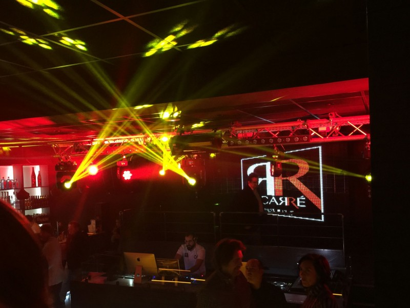 eclairage club discotheque chambery