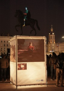 prestataire mapping projection grenoble
