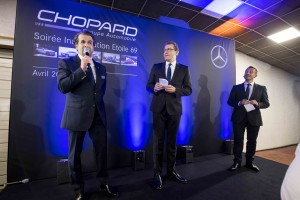 Inauguration Etoile 69 par le groupe automobile Chopard